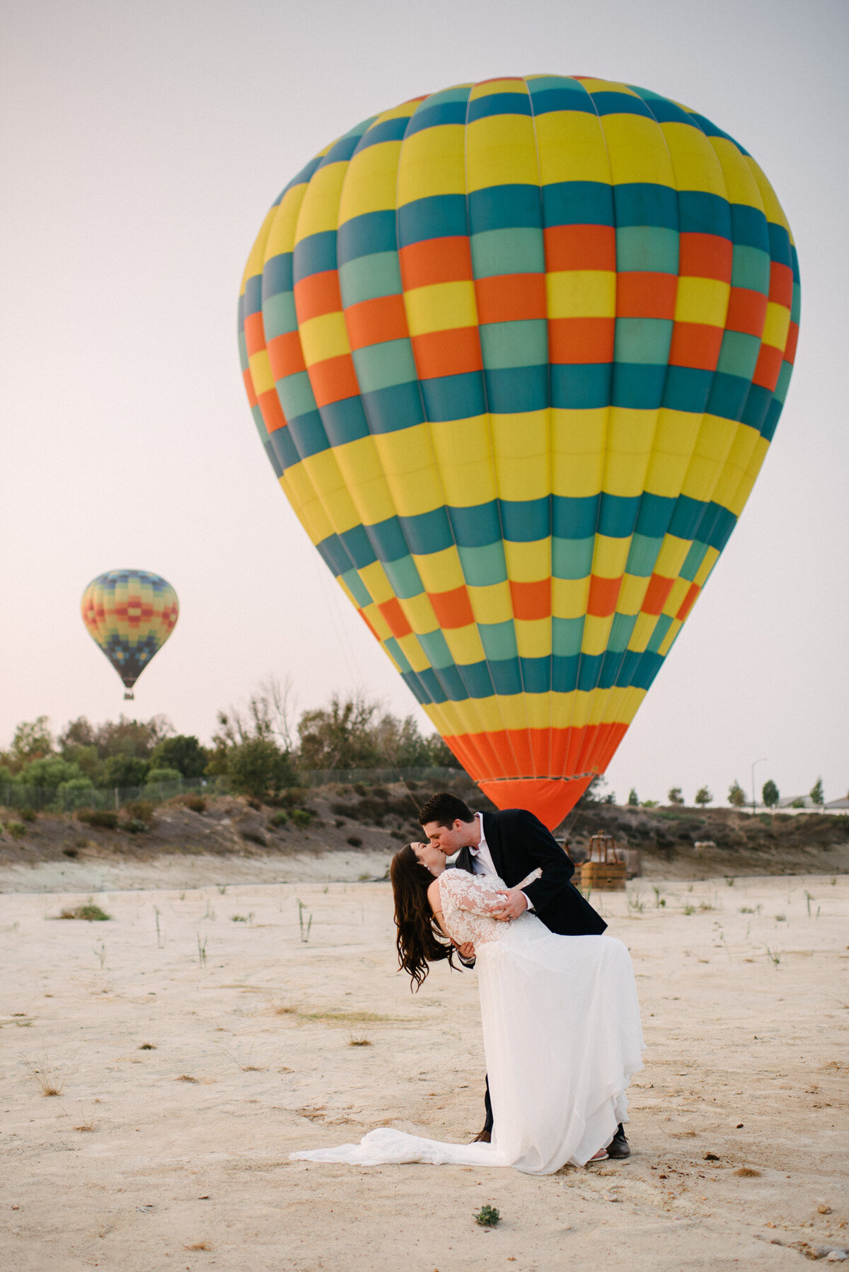 Hot Air Balloon Elopement Marie Monforte Photography-198