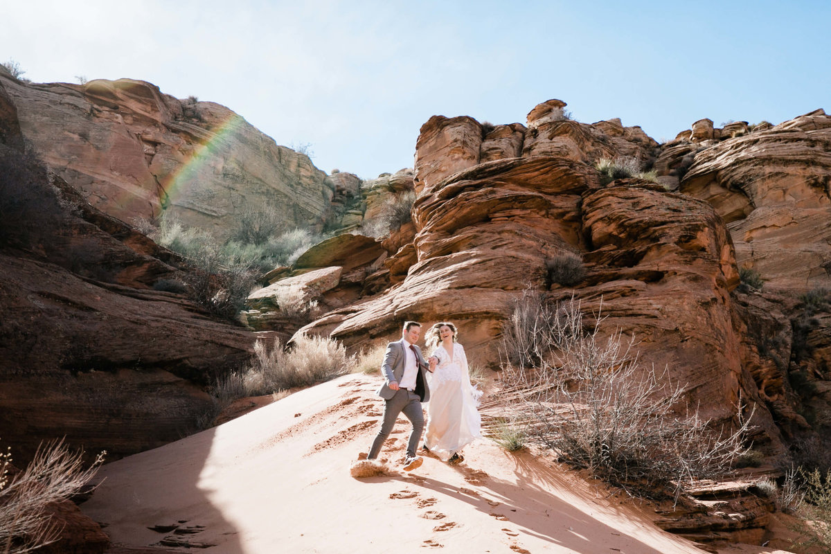 page arizona elopement aimee flynn photo