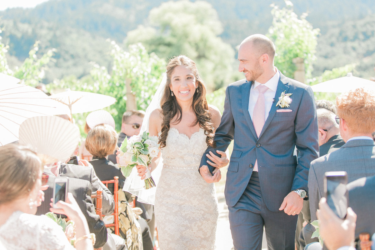Outdoor Napa Valley Wedding