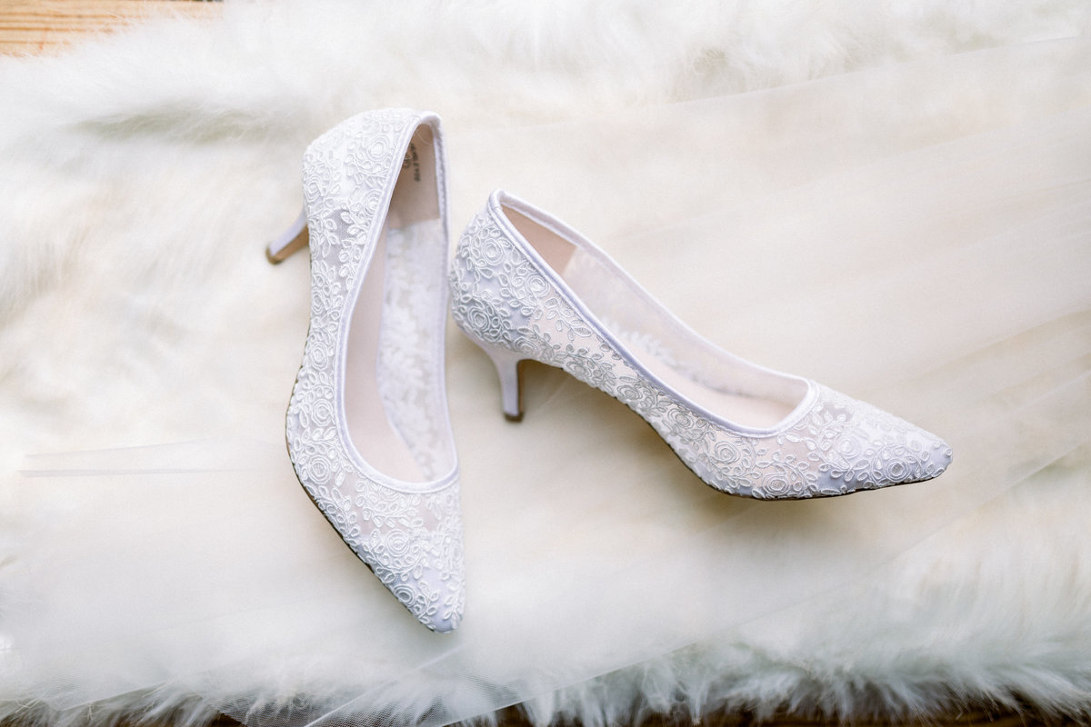 Washington DC Wedding Photography, close up of bride's shoes