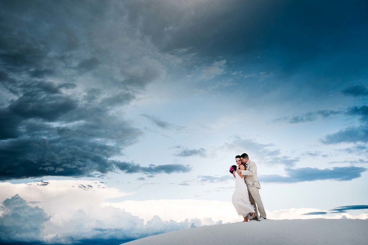 wedding photography at white sands
