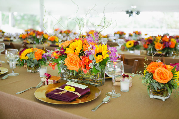 Farm home tent wedding fall rustic17