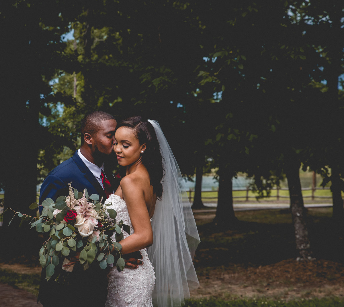 Fort Mill Charlotte Elopement Wedding Photographer The Farm At Brusharbor