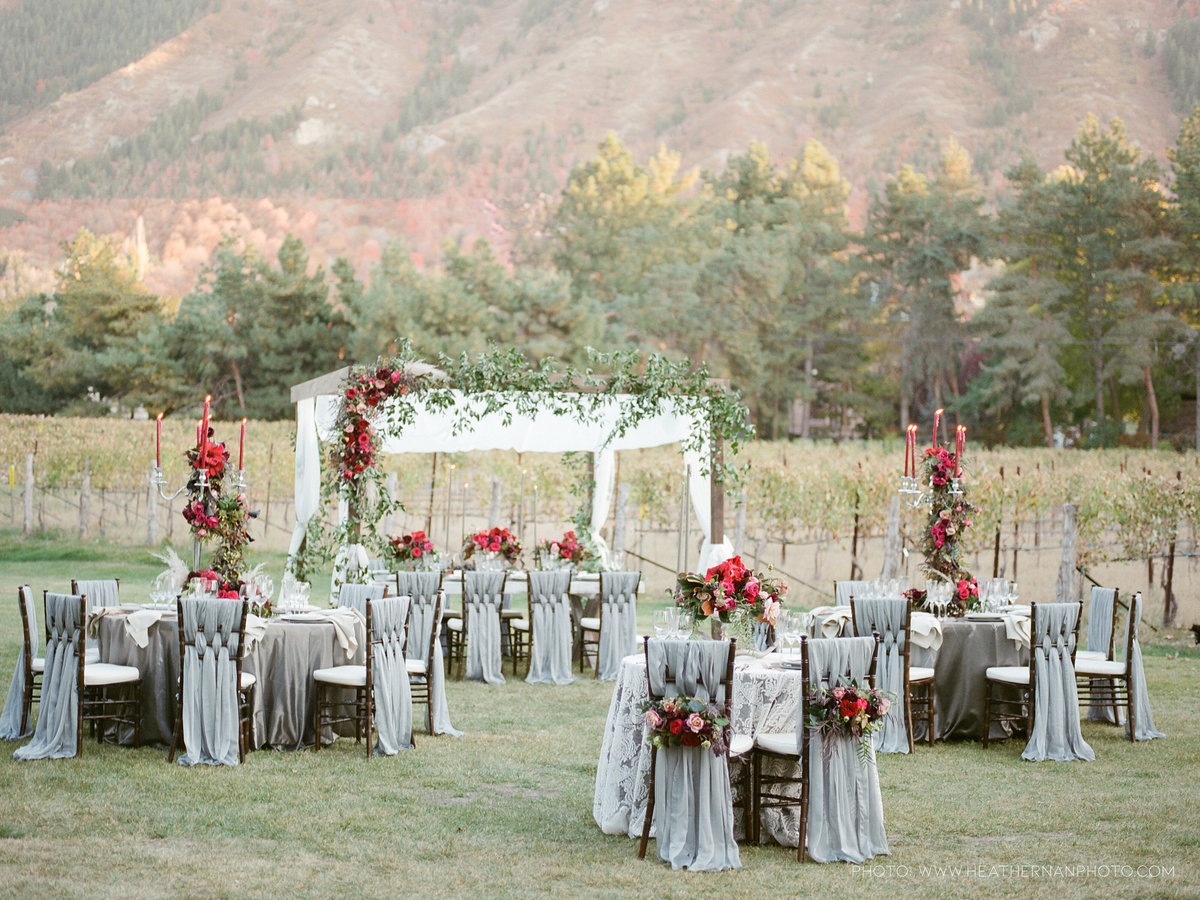 Utah Florist_Romantic Vineyard Wedding_Red Wedding Ideas-0156