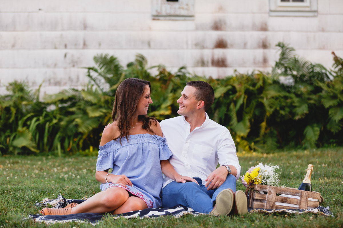 Springton Manor Engagement Session Chester County PA 06