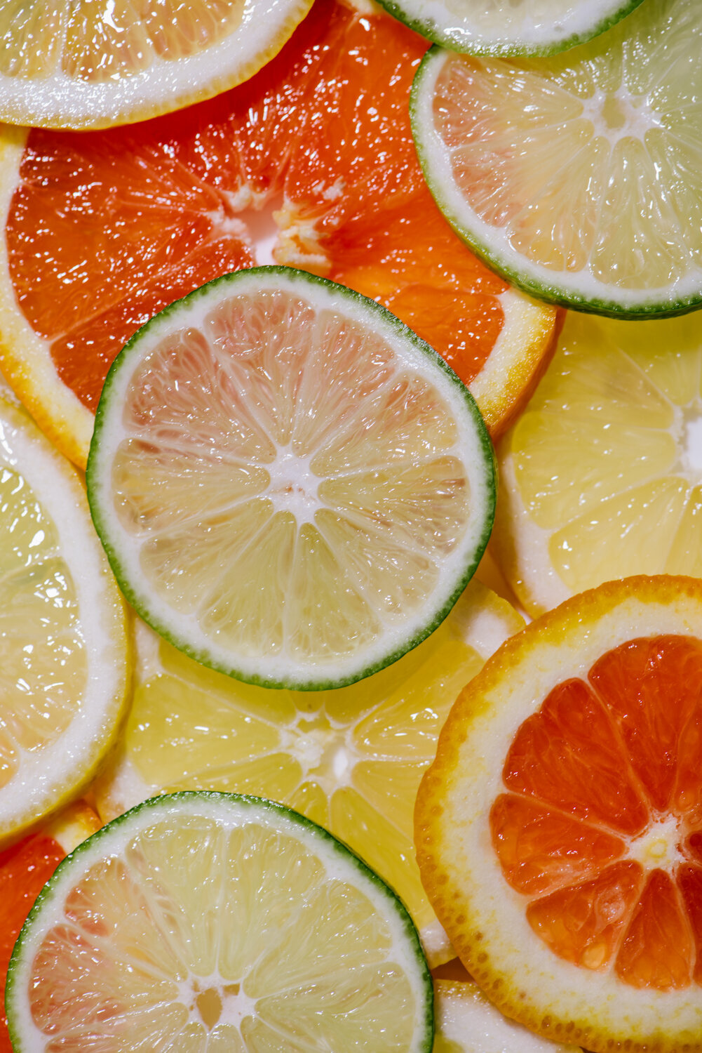 cara cara oranges with lemons and limes