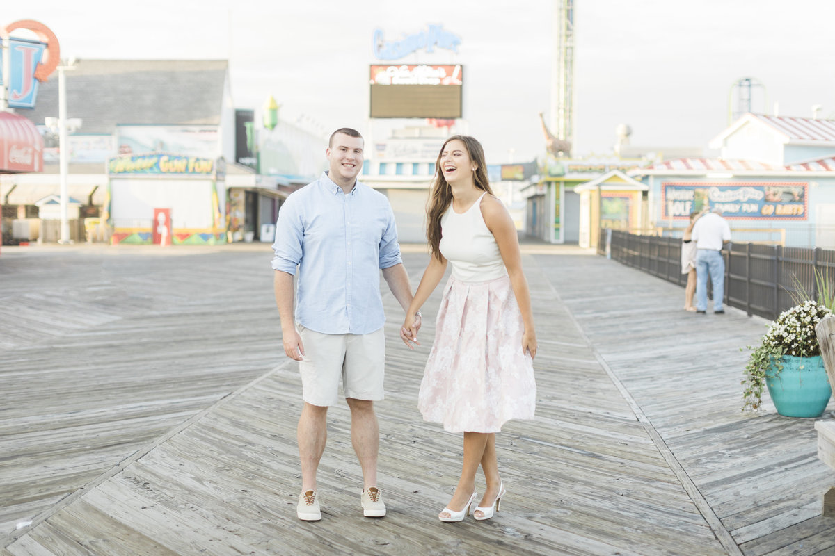 Seaside Engagement Photographer