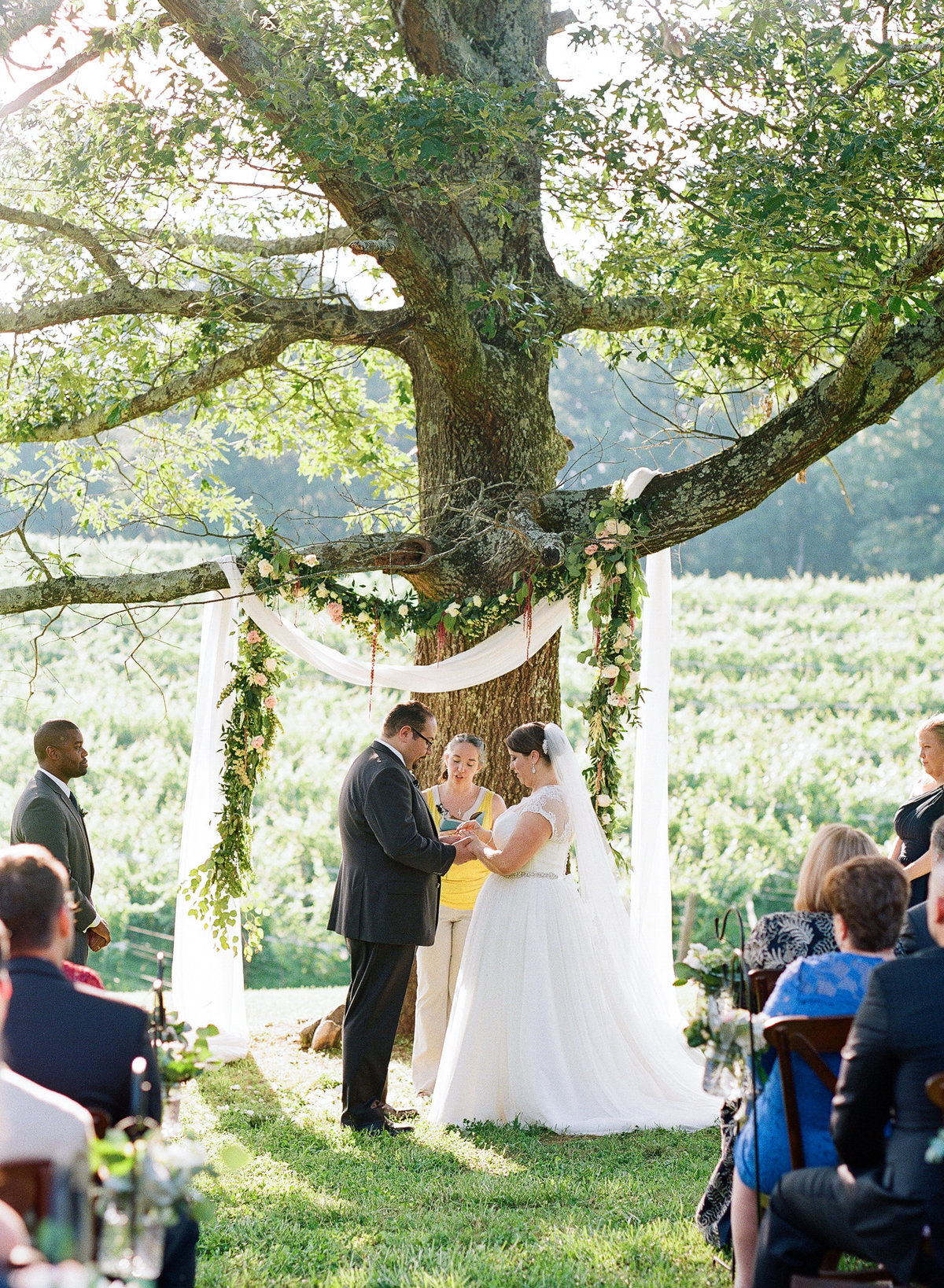 Montaluce Winery Wedding Ceremony