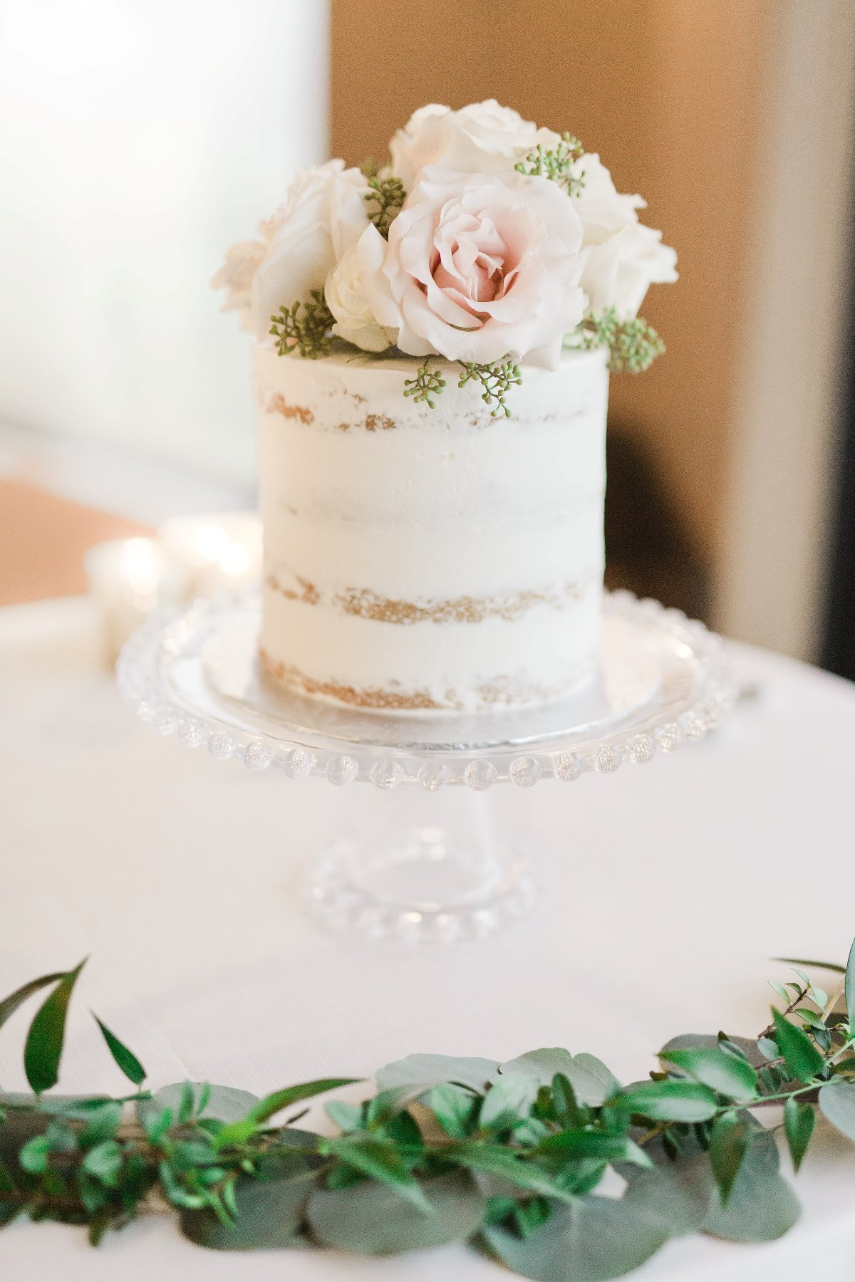 Whippt Semi-Naked cutting Cake Design