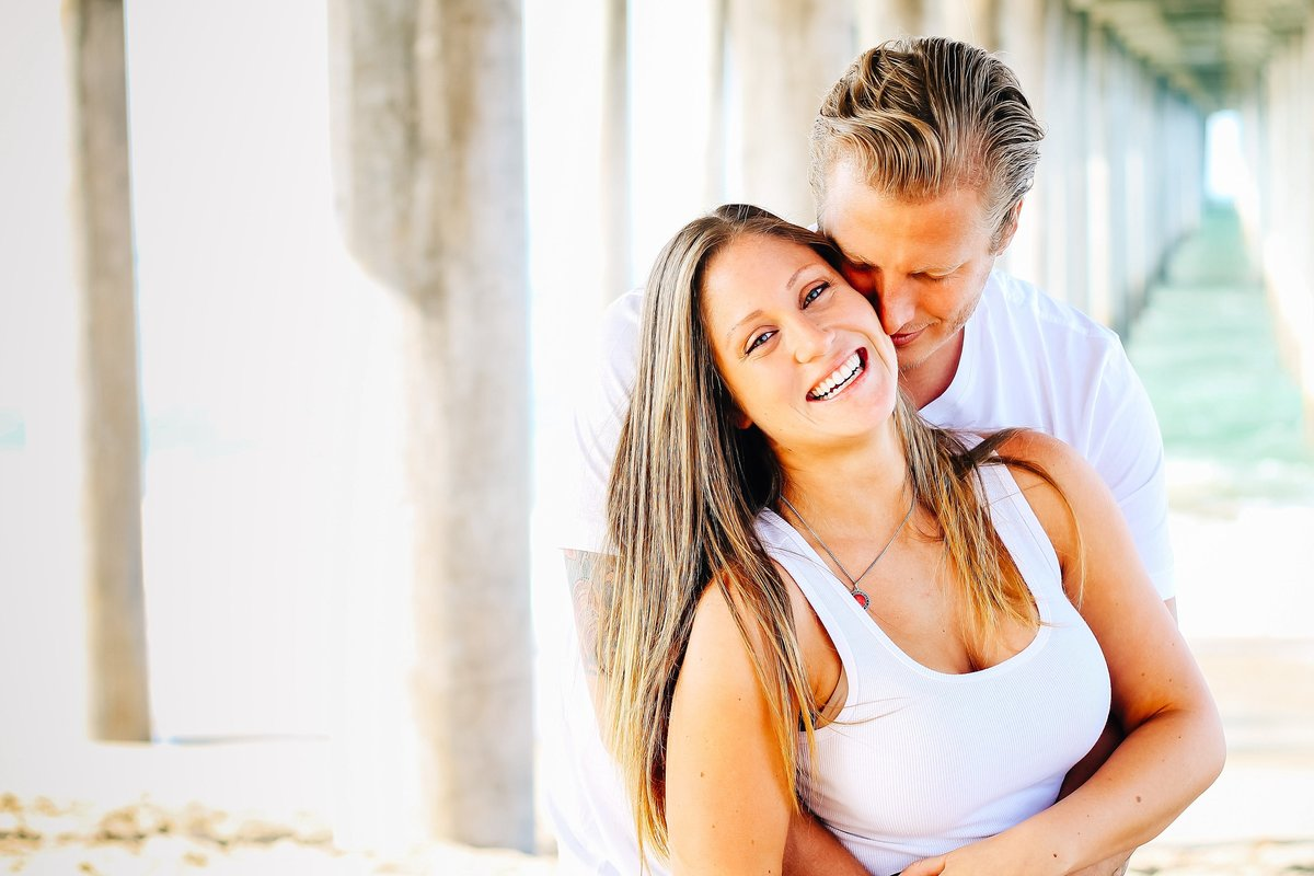 Lunabear Studios - Beach Engagement Session - Huntington Beach-1_WEB