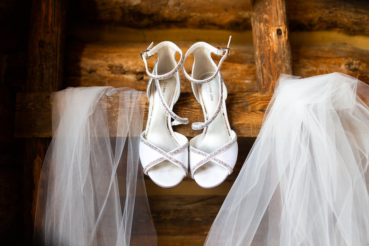 Strawberry-Creek-Ranch-Wedding-Ashley-McKenzie-Photography-Romantic-Mountain-Affair-Navy-Blush-Colorado-Gianni-Bini-High-Heels