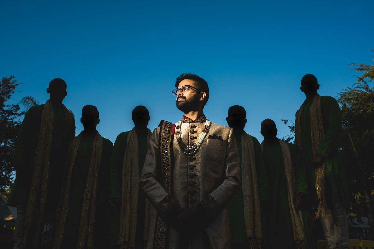 indian wedding groomsmen
