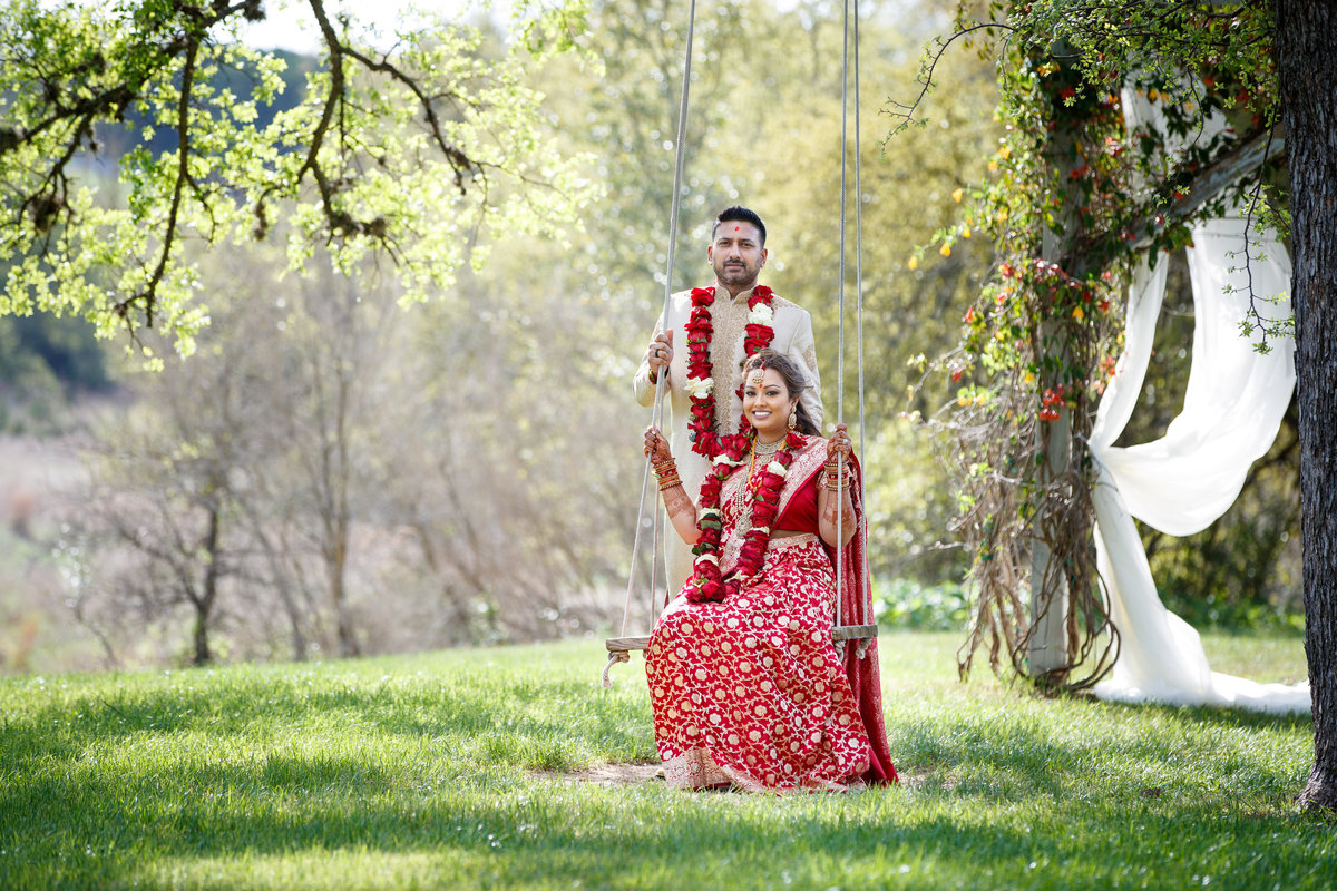 Indian wedding photographer bride groom swing natural light traditional 10601 B Derecho Drive, Austin, TX 78737