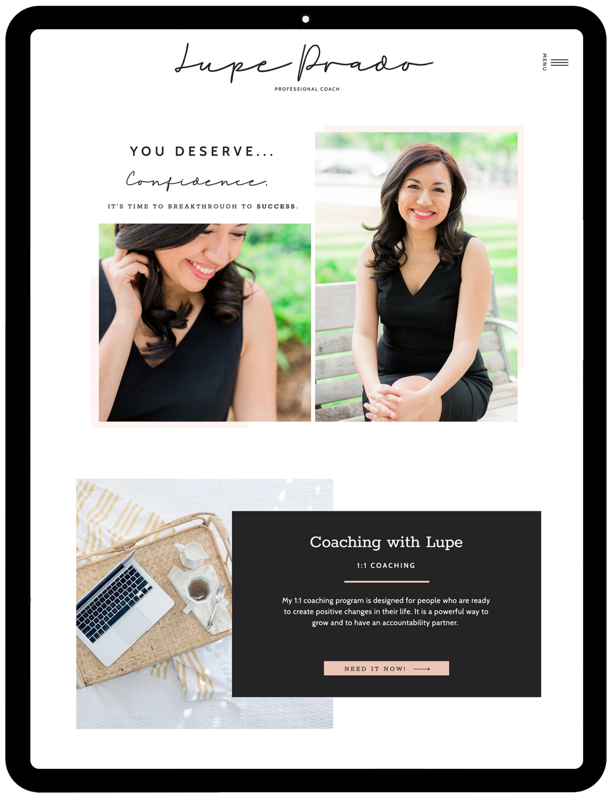 Lupe-Prado-Coach-Showit-Template