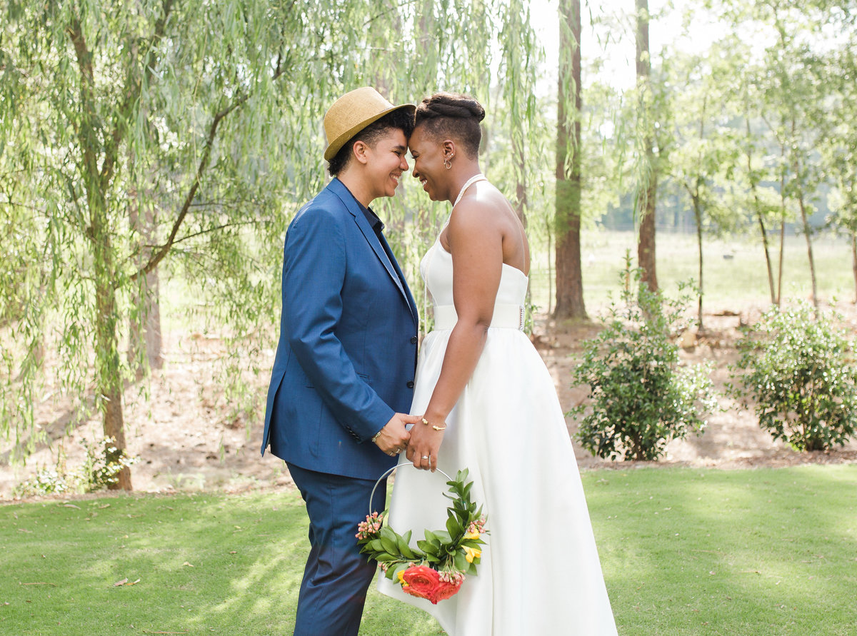 LGBT wedding at Chapel Hill Carriage House
