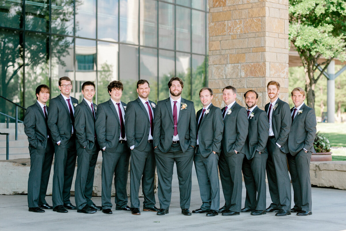 Kaylee & Michael's Wedding at Watermark Community Church | Dallas Wedding Photographer | Sami Kathryn Photography-93