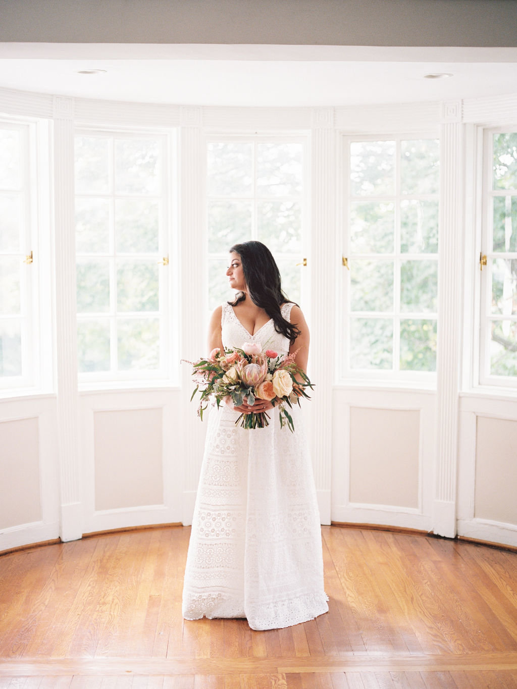 bride Delaware wedding Greenville Country Club