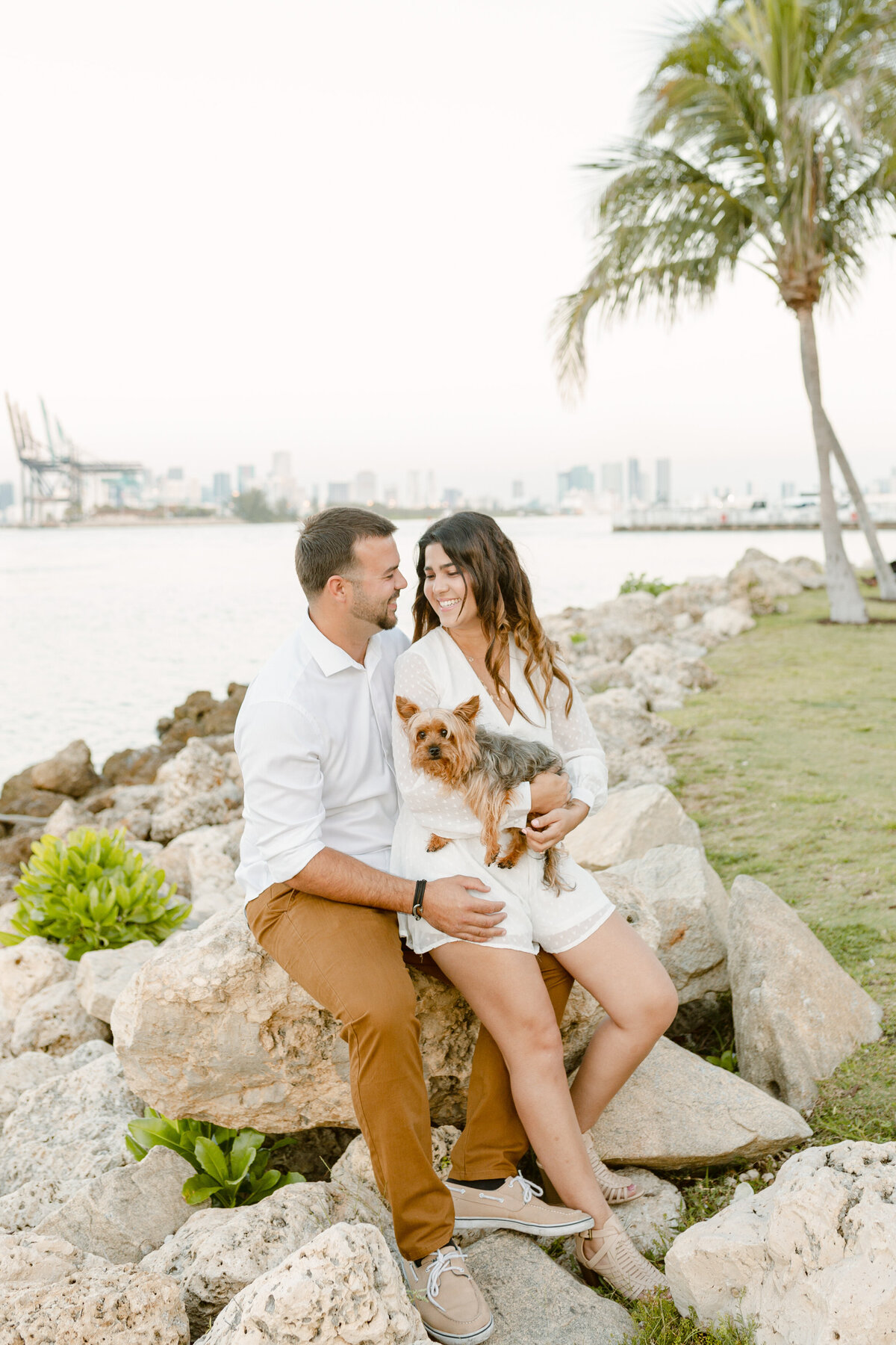 South Pointe Park Engagement Photography Session 3