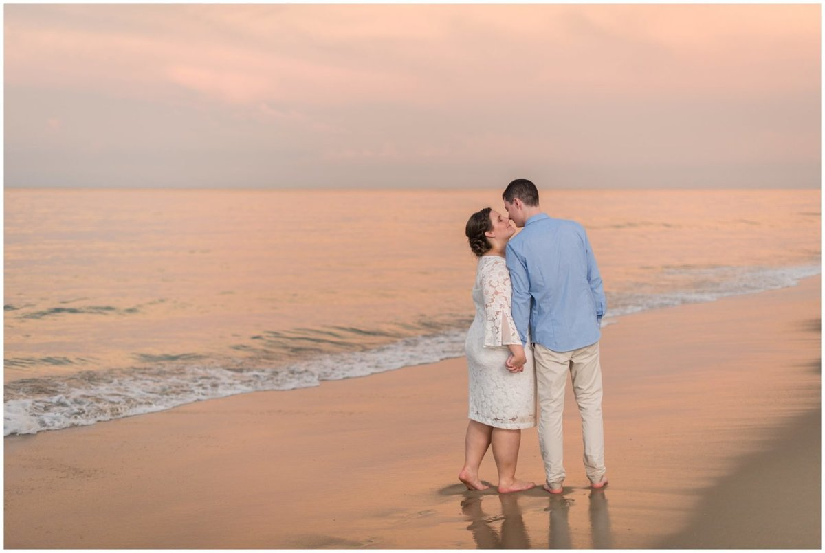 outer banks beach wedding nc wedding photographer