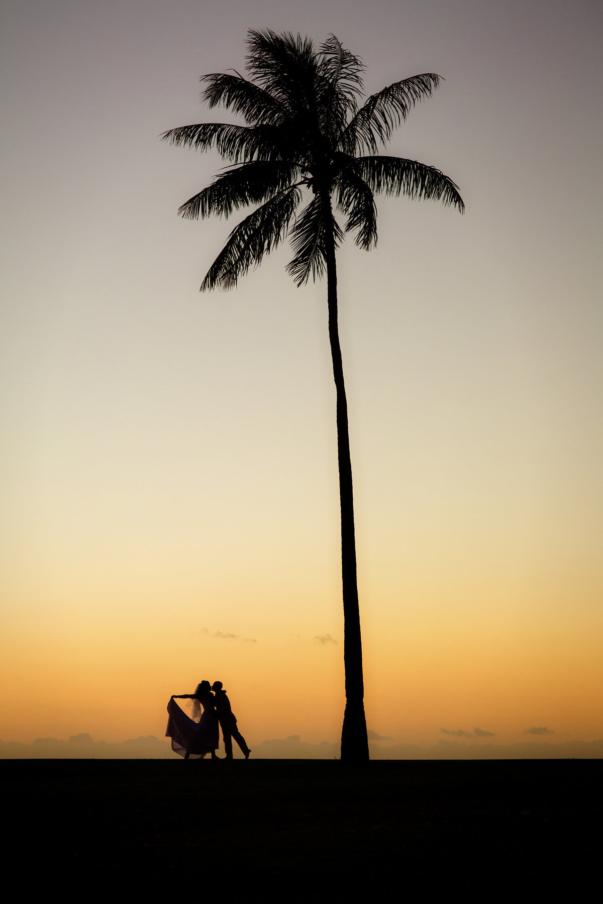 Award Winning silhouette image in hawaii