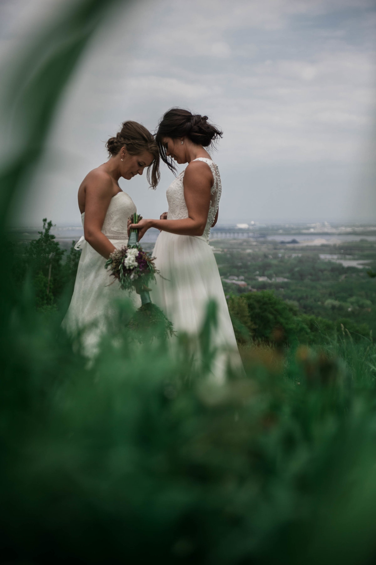 Britini & Paige - Minnesota LGBT Wedding Photography - RKH Images - Portraits  (91 of 338)