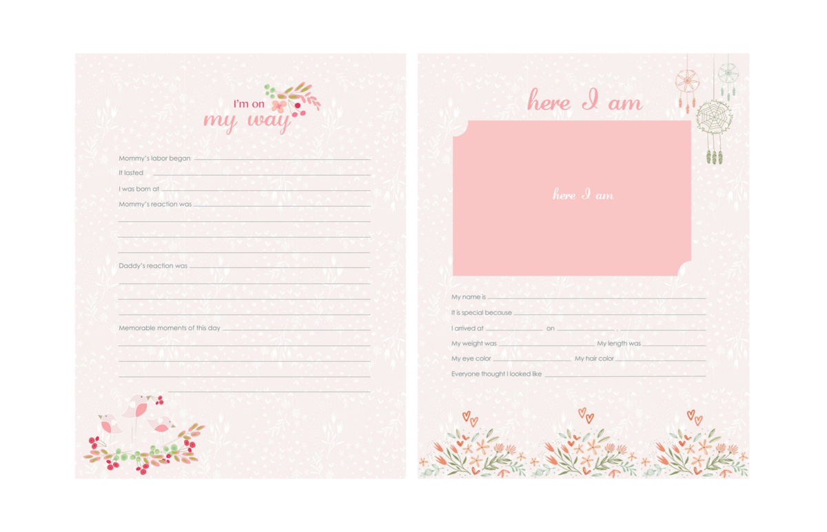 Baby-Book-Pages-Pink-20-21