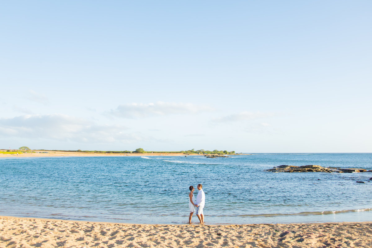 Beach Kauai Couples Portraits