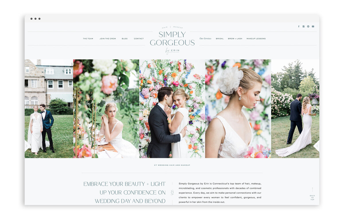 Simply Gorgeous by Erin - With Grace and Gold - Best Showit Website Template Templates Theme Themes Design Designs Designer Designers - Photo - 3