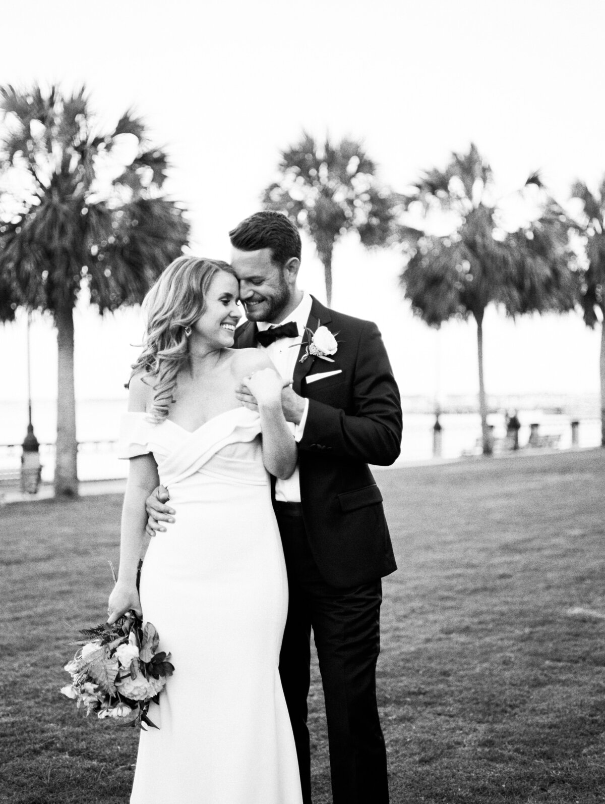 Charleston Harbor Waterfront Wedding Photography 23