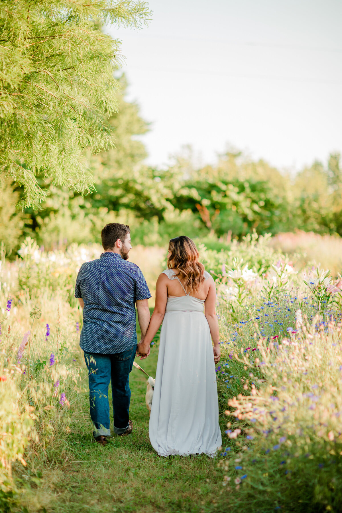 2021 bride engagement session