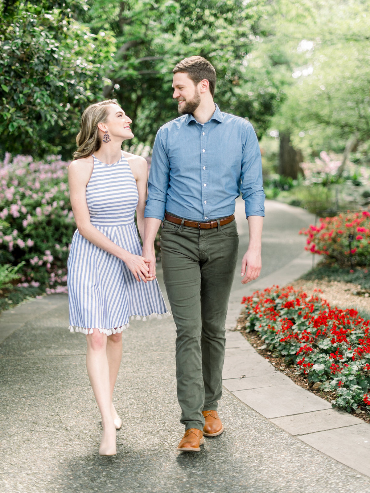 Courtney Hanson Photography - Dallas Spring Engagement Photos at Dallas Arboretum-2553