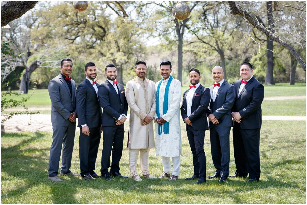 Austin wedding photographer pecan springs ranch wedding photographer groom groomsmen