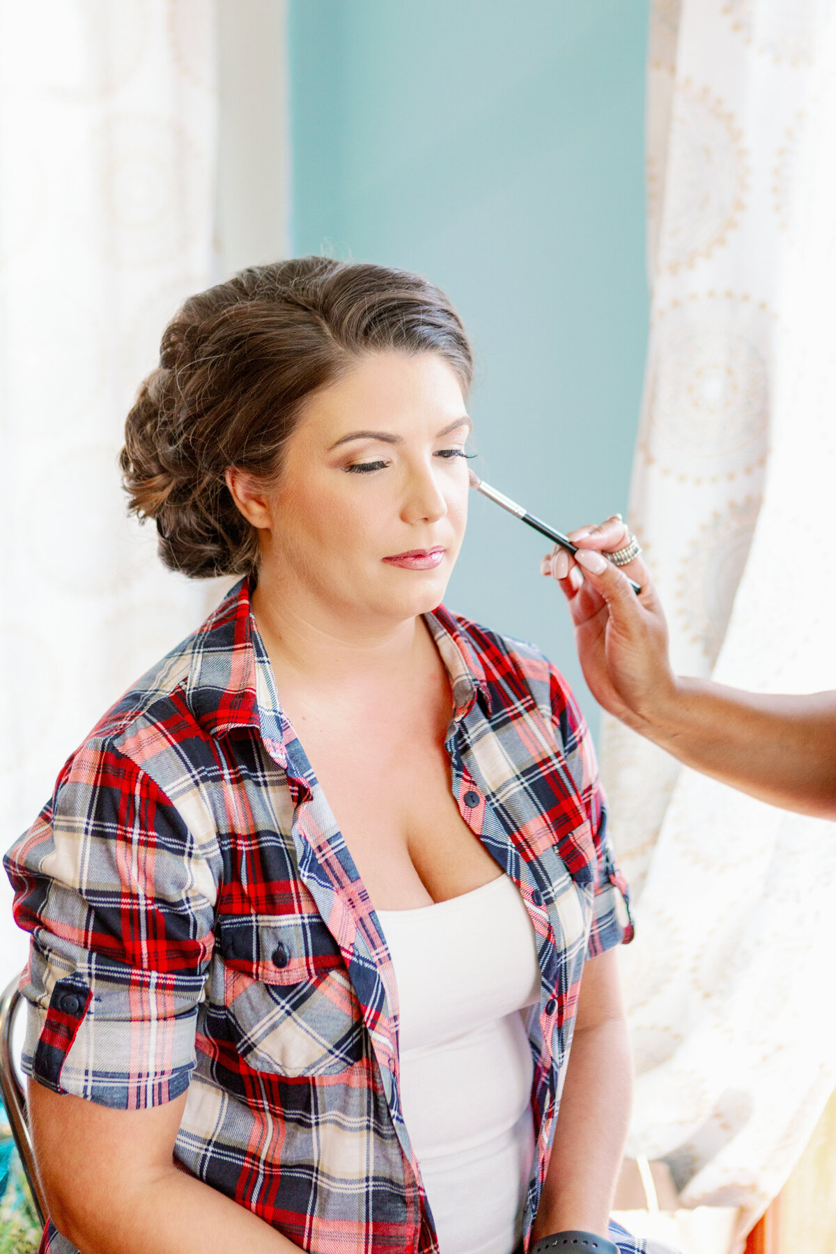 Bride's Wedding Day Makeup