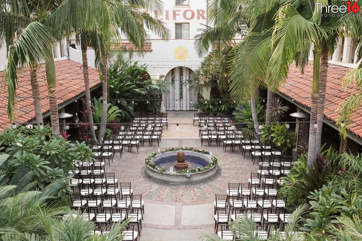 ceremony at Villa Del Sol