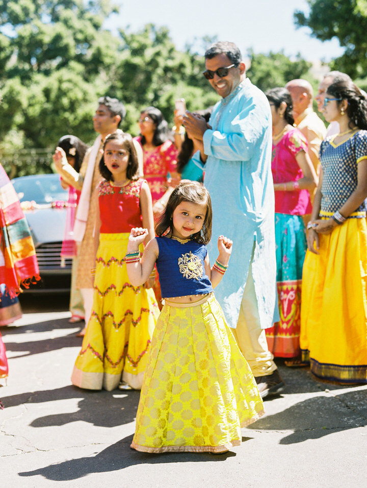 baraat dancing at holman ranch indian wedding