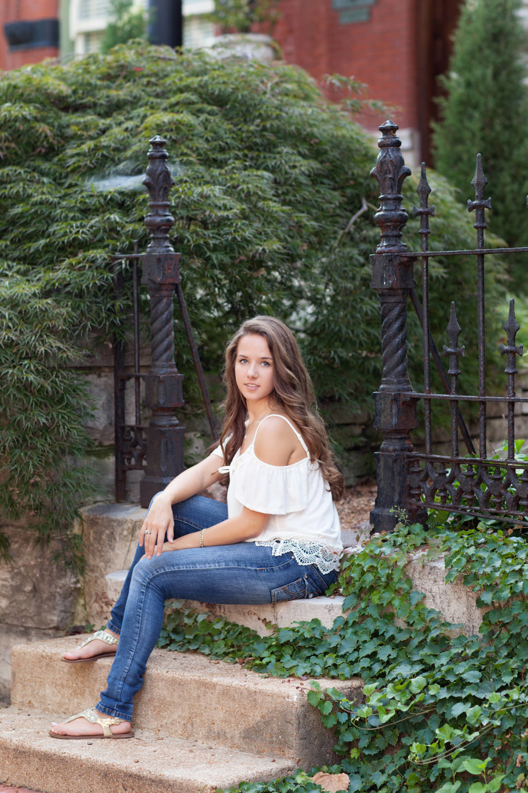 L Photographie St. Louis city senior pictures 11