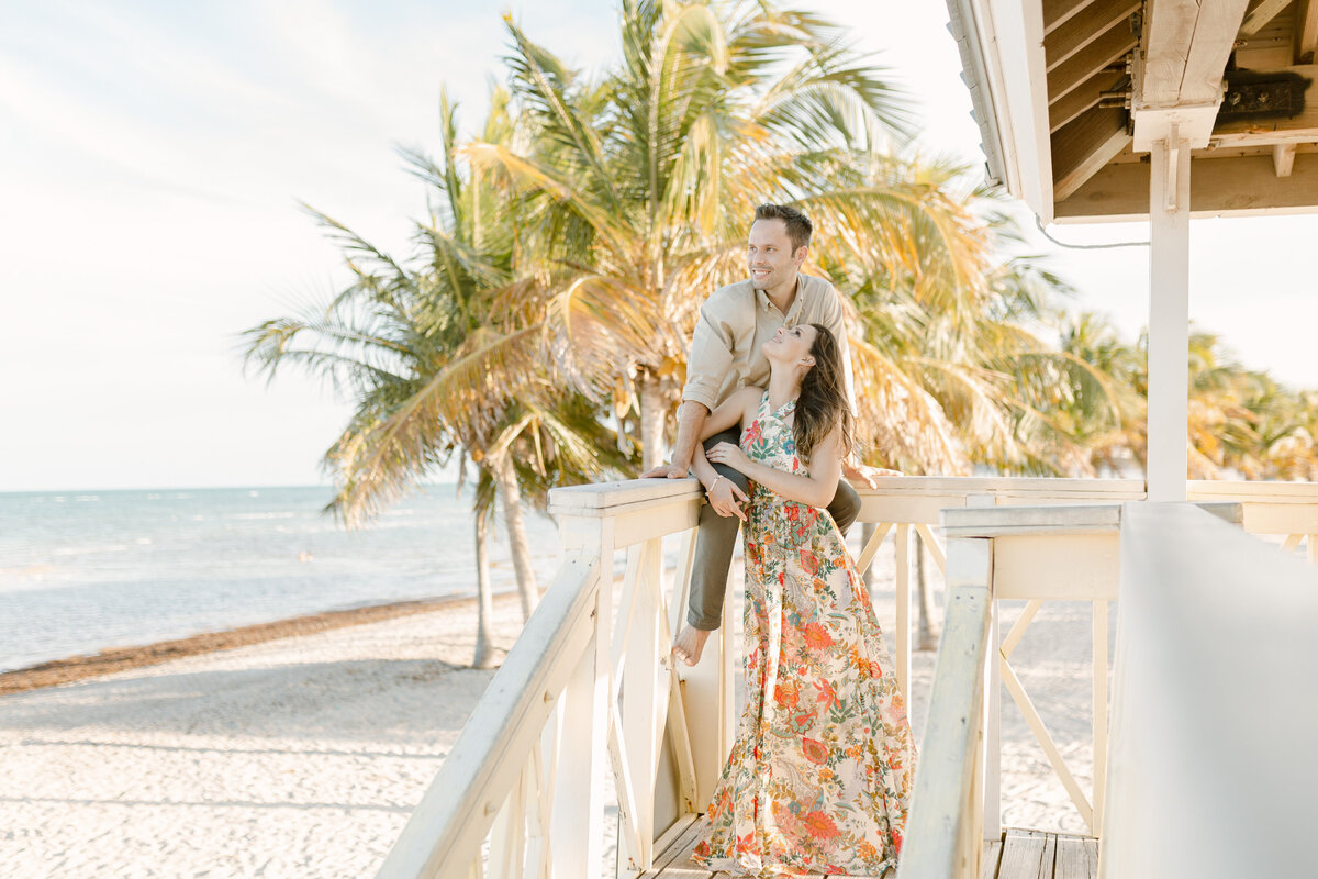 Fairchild Tropical Gardens Engagement Photography Session 14