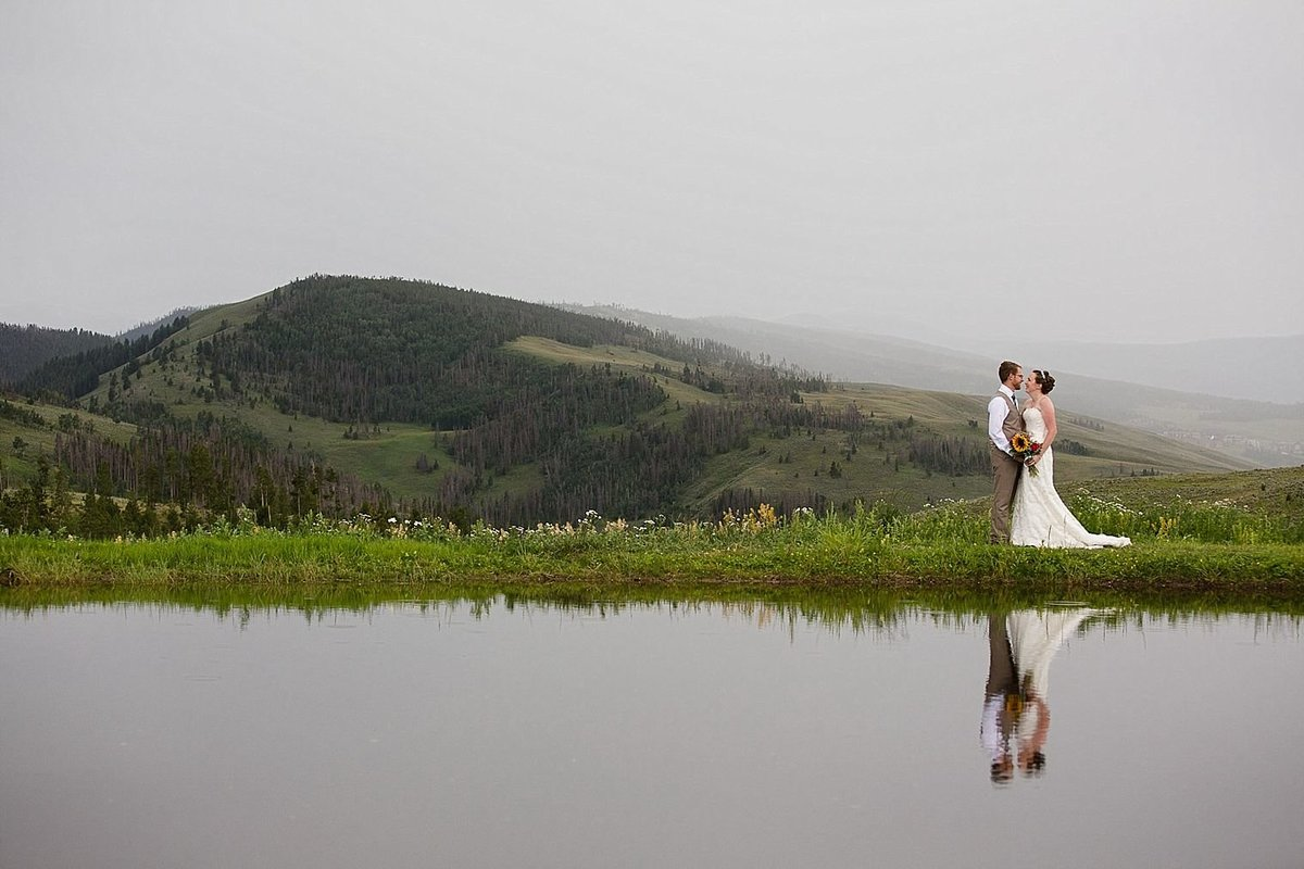 Strawberry Creek Ranch Foggy Wedding