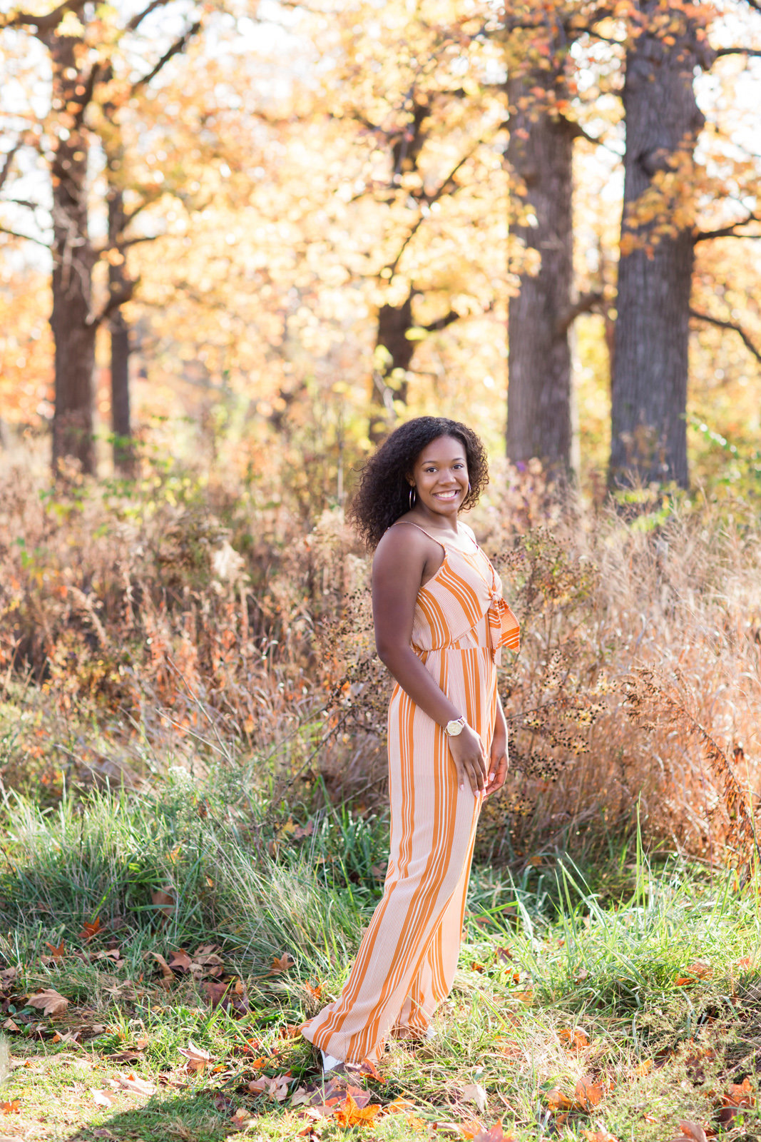 L Photographie high school senior photos Forest Park fall session 24