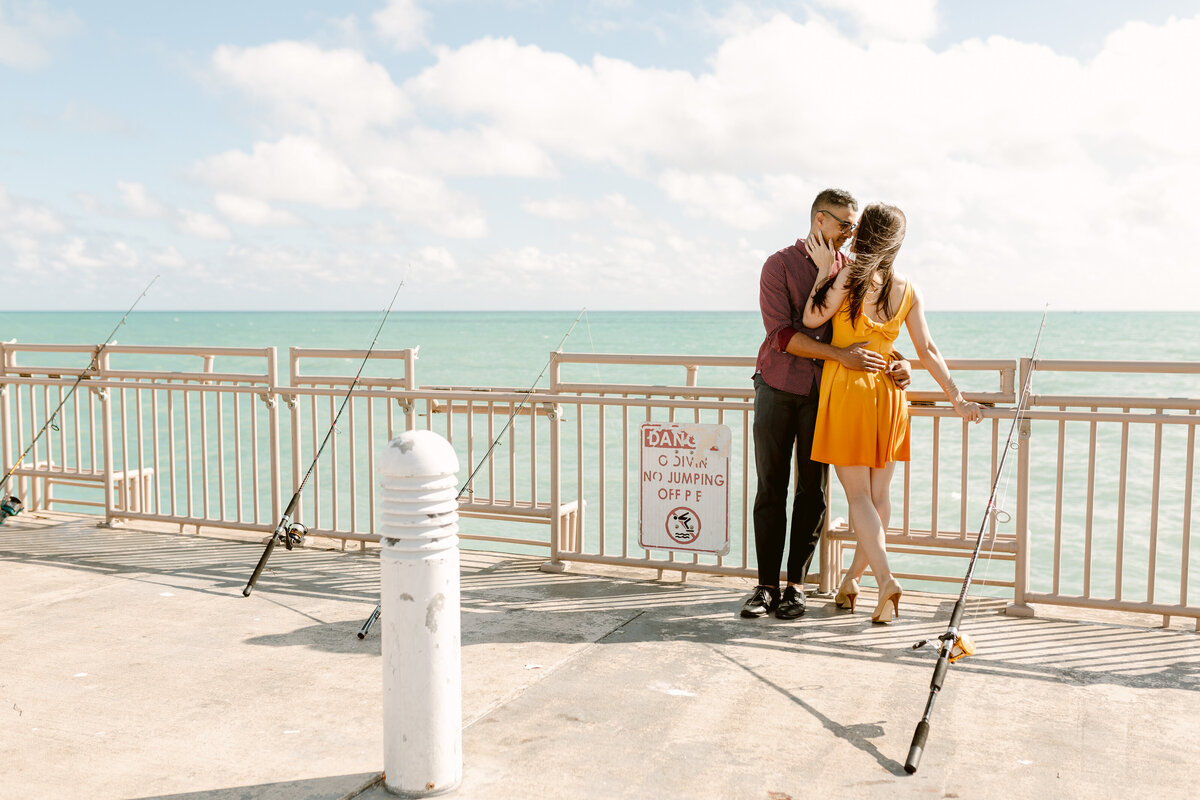 Sunny Isles Beach Engagement Photography Session 34