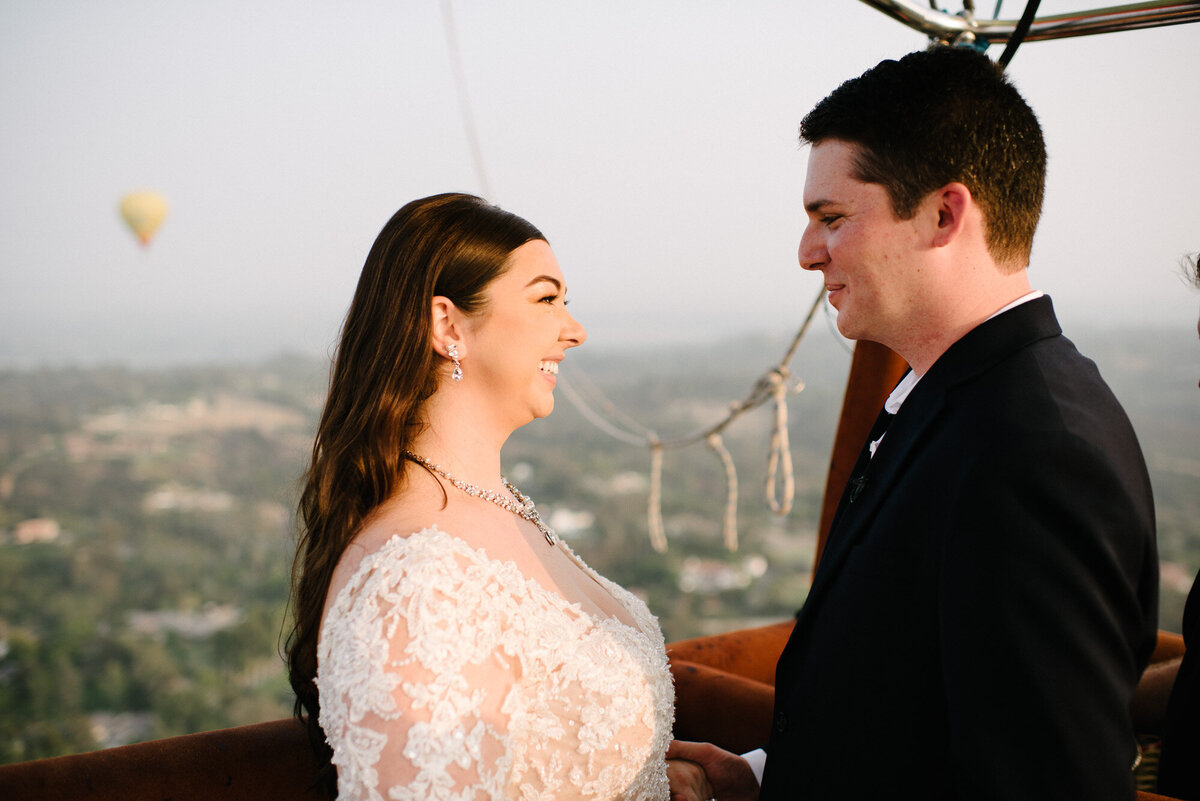 Hot Air Balloon Elopement Marie Monforte Photography-136