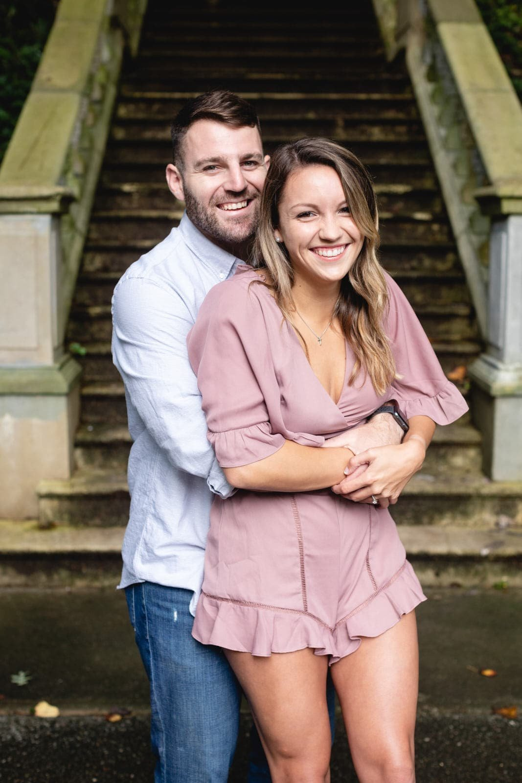 Atlanta engagement at Cator Woolford Gardens by Mike Glatzer Photos