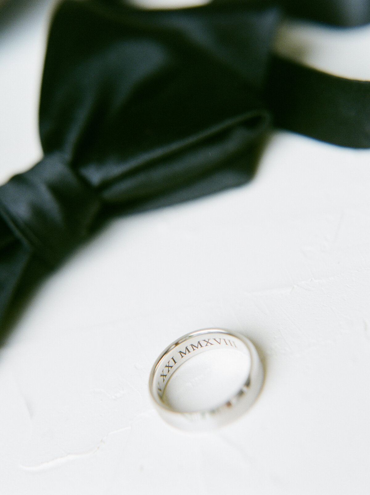 Groom's Ring - Engraved Wedding Ring