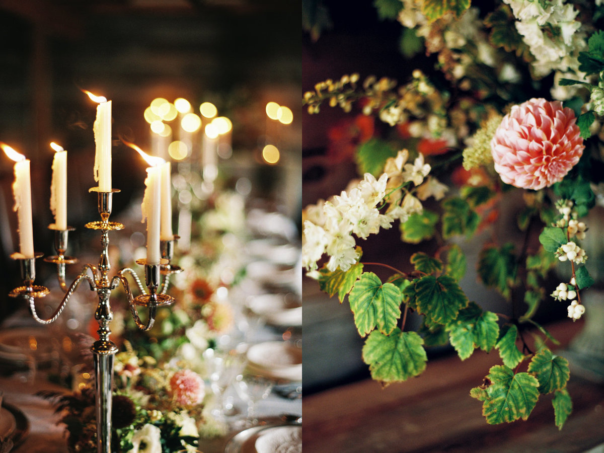 36 Paws Up Wedding, Barn Wedding, Candlelight