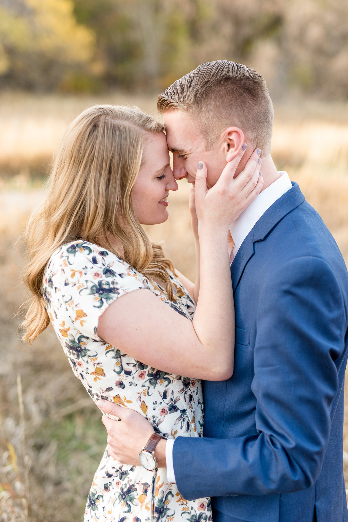 Layton Utah Fall Engagement Photography_014