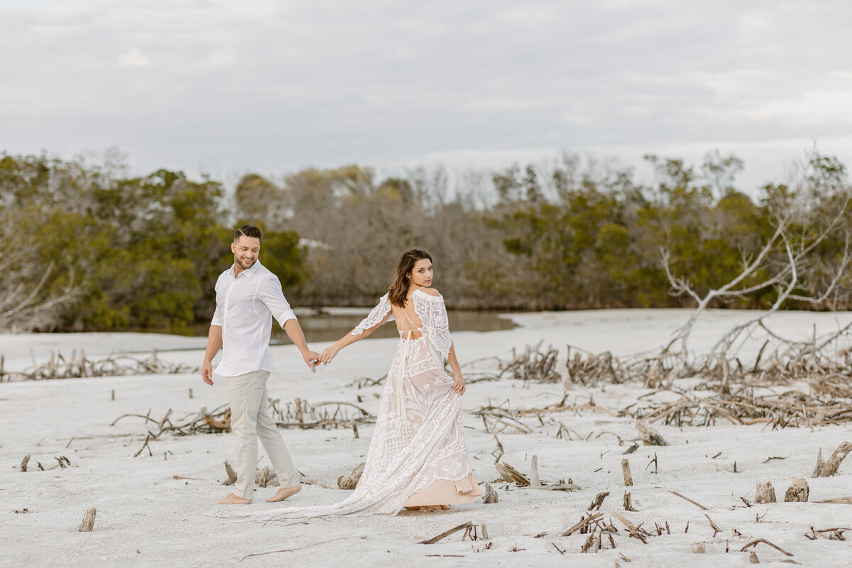 Beach Elopement in Saint Petersburg, Florida 27