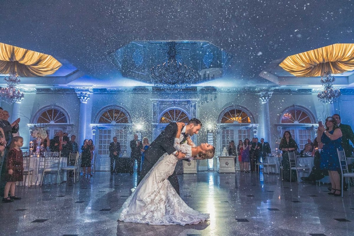NJ Wedding Photographer Michael Romeo Creations Addison Park Snow