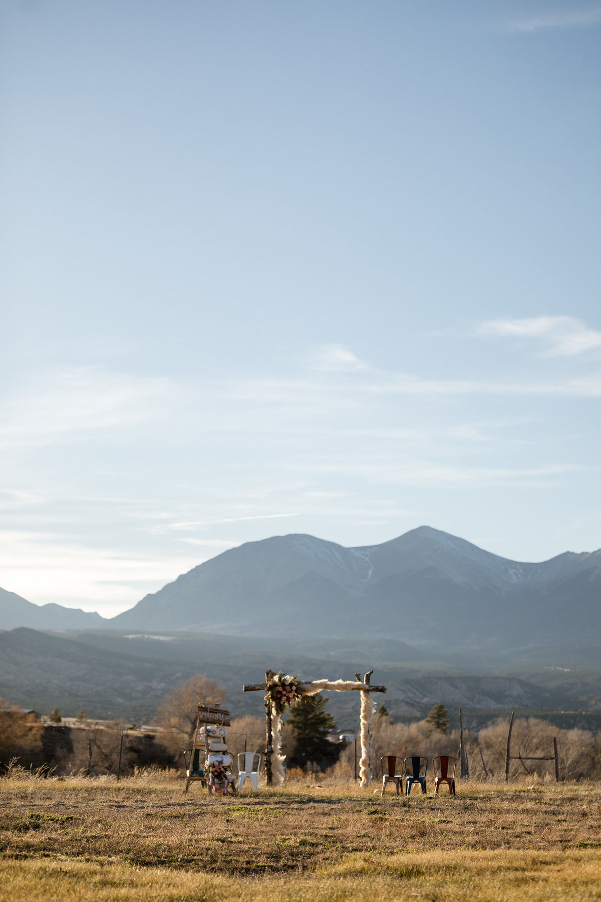 Everett Ranch Rocky Mountain Wedding Outdoor Barn Rustic Salida Colorado Alpaca Collegiate Peaks Vintage Ranch Mount Princeton Harvard Yale 016