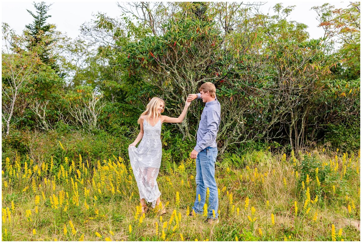 Black Balsam Knob - Asheville Engagement Photographer - Tracy Waldrop Photography_0345
