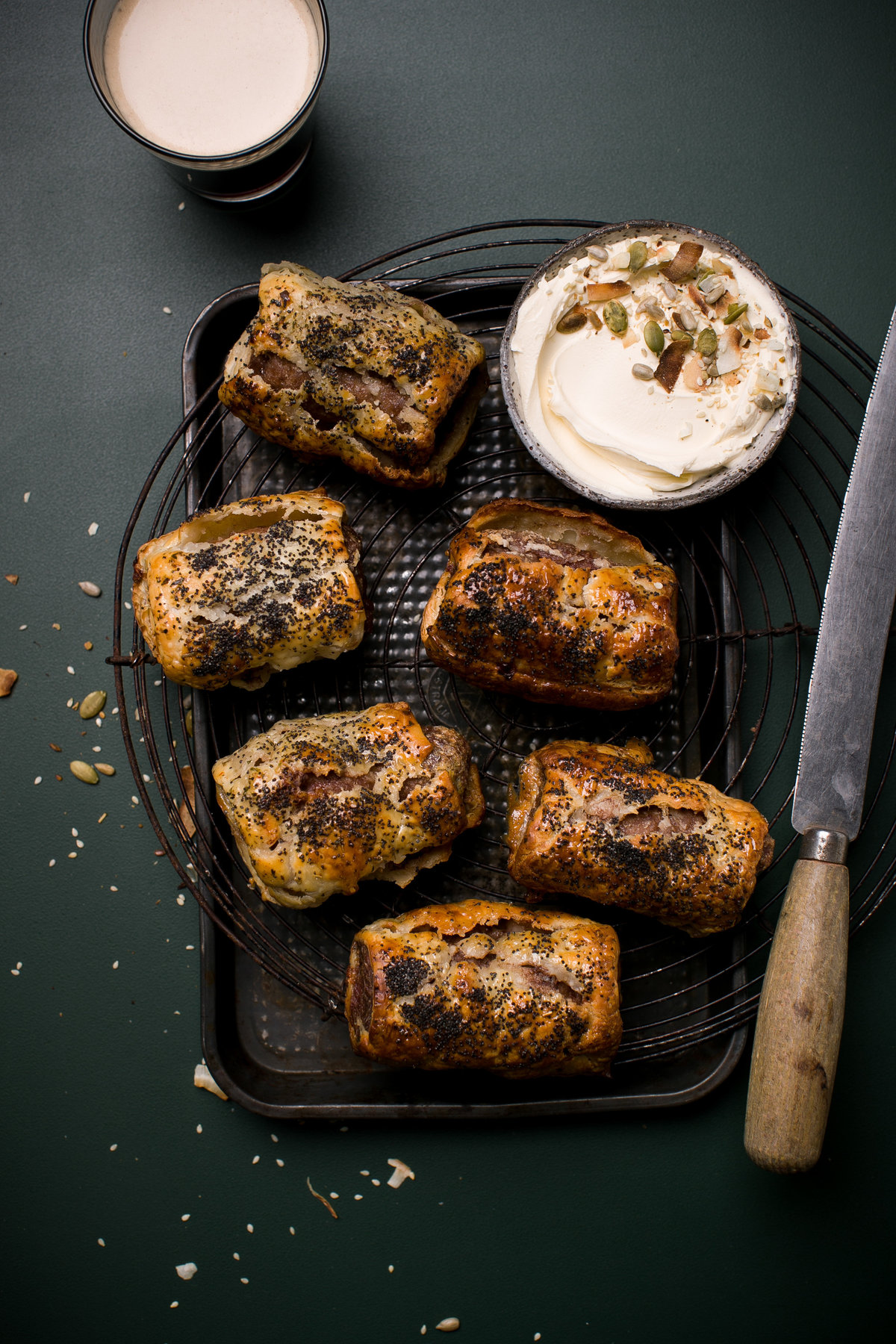 Sausage Rolls - Anisa Sabet - Food Photographer